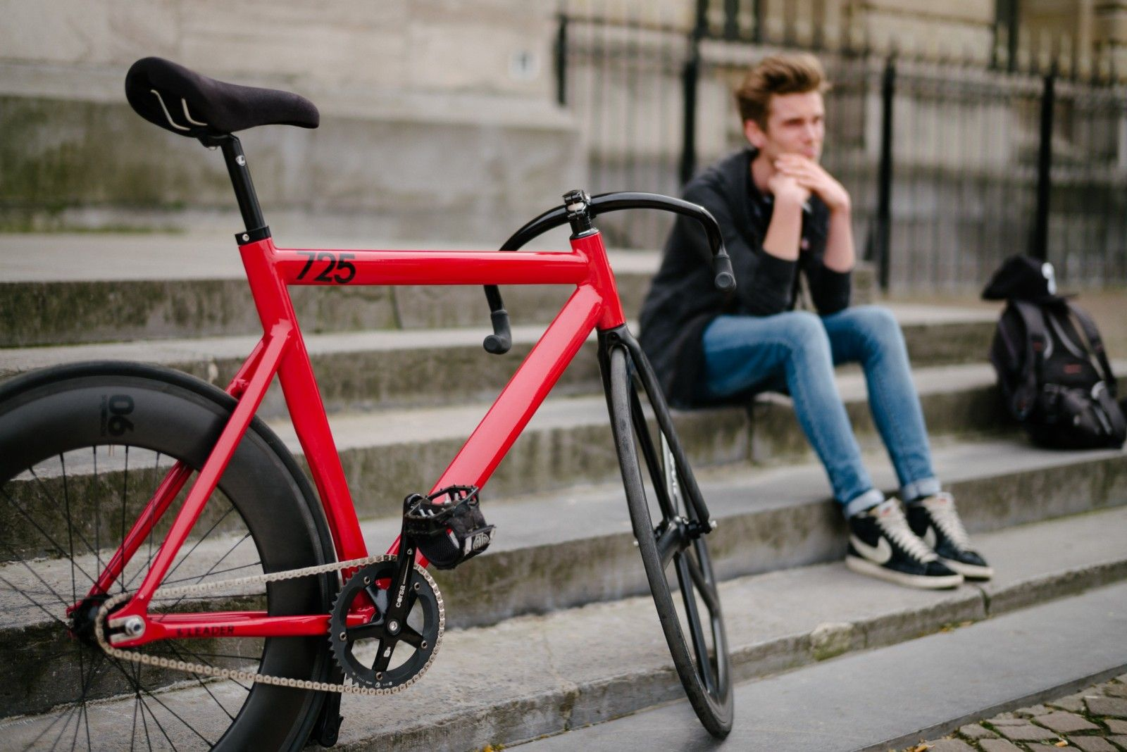 Guy Lille Fixie Bike