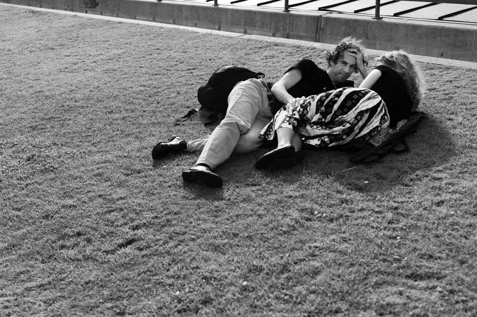 Couple Amsterdam Grass