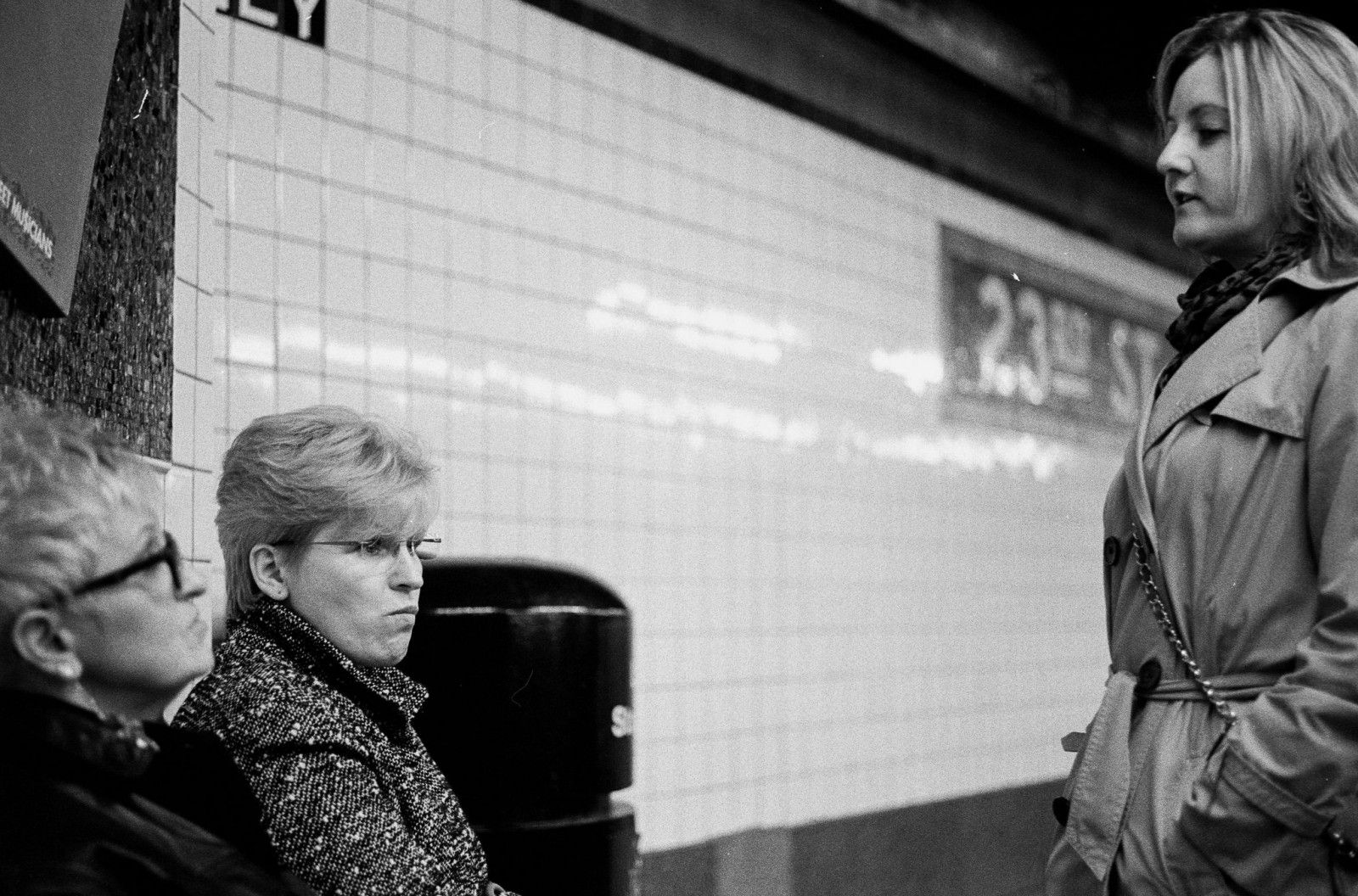 Manhattan Subway NYC Ladies