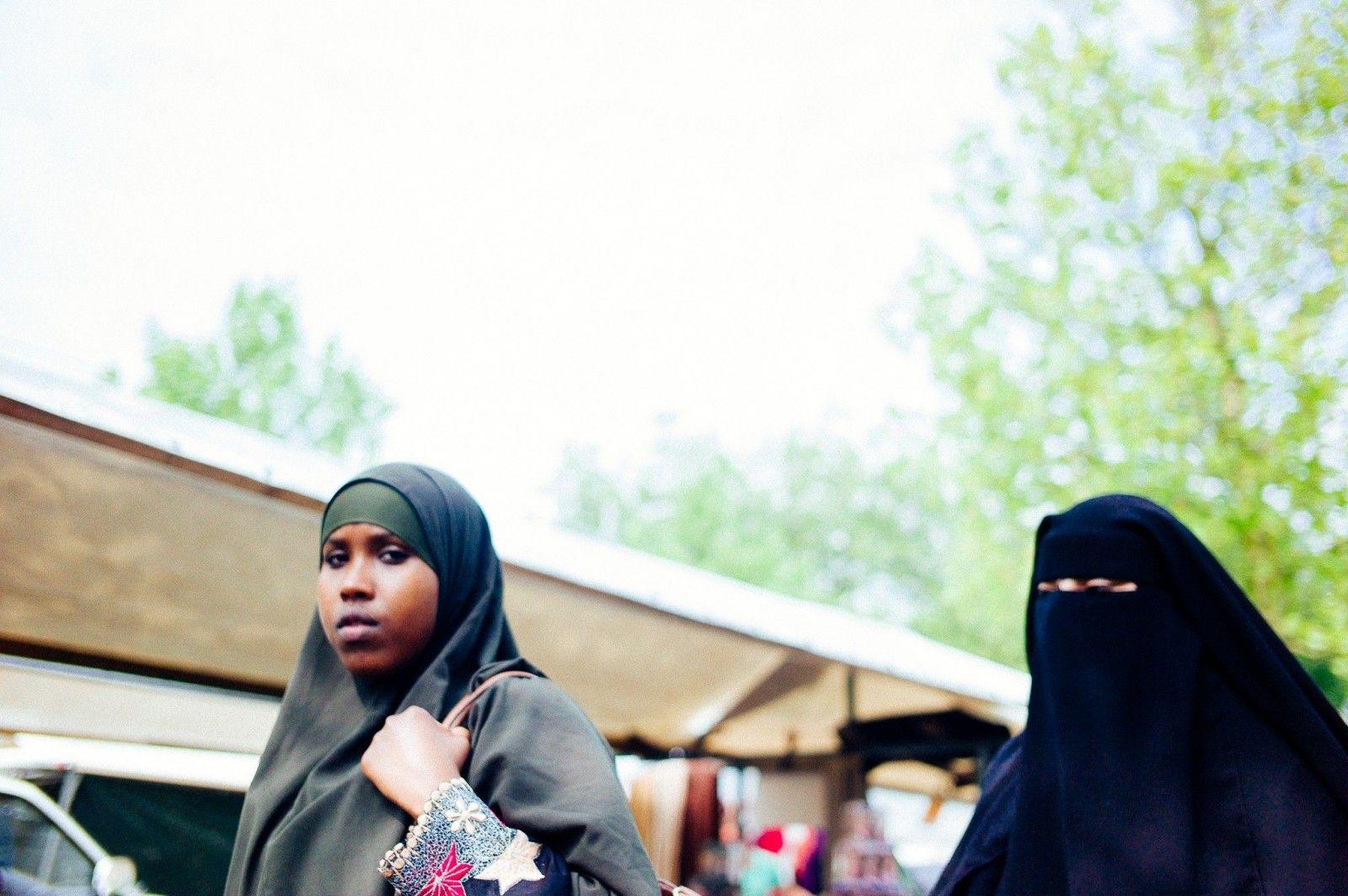 Muslim Islam burka rotterdam