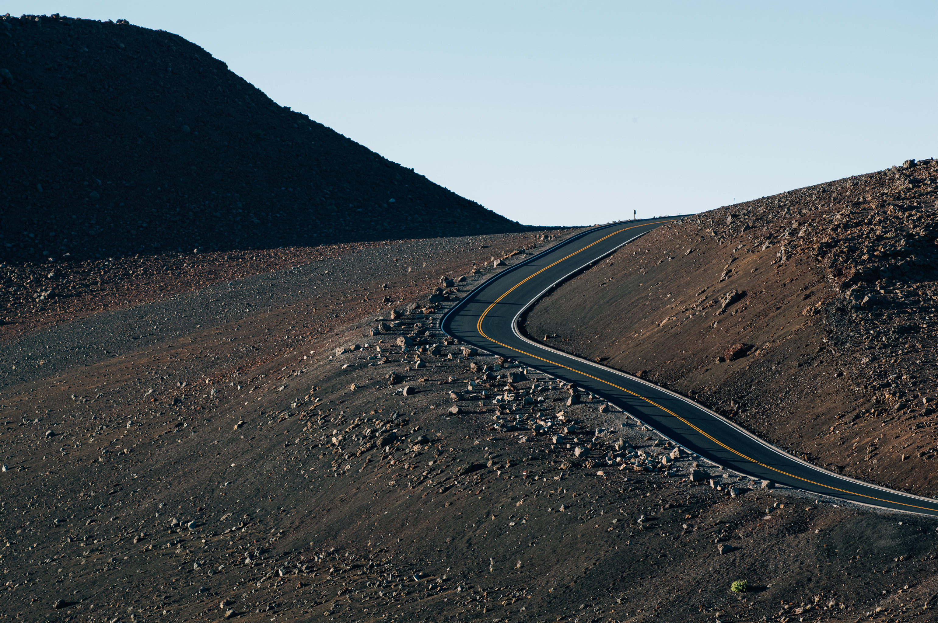 Road on top of the Haleakala, Maui, Hawaii